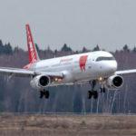 Первый самолёт Red Wings в новой ливрее прибыл в Домодедово