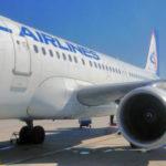 Самолёт «Уральских авиалиний» по пути в Париж сел в Калуге