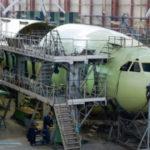 На ВАСО первый Ил-96-400М обретает свою окончательную форму